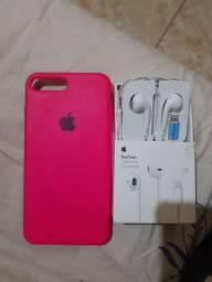 Fone e capa do iPhone 8 plus 80$