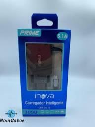 Carregador de parede Inteligente Inova V8 5.1A