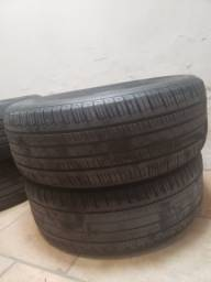 4 pneus seminovos para Hilux, roda18