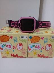 Relógio smartwatch infantil com GPS