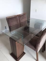 Mesa de Jantar de Vidro!!!