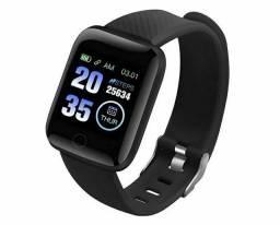 Relógio de pulso Smartwatch com sensor de batimentos