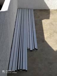 Estrutura para telhado de alumínio