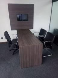 Sala de reuniões completa