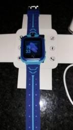 Relógio infantil com Gps