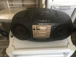 Rádio portátil Sony