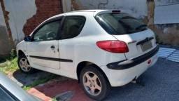 Peugeot 206 ano 2000 1.6 8v
