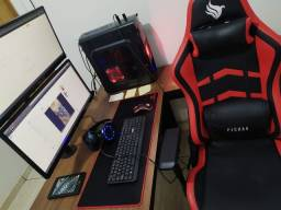 Setup Completo - i5 rx570 - monitores ultrawide + suporte - Home Office/Gamer