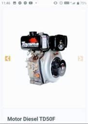 Motor Toyama diesel 5hp