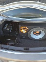Kit de Som Automotivo - Completo e funcionando