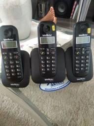 Telefone com 2 ramais