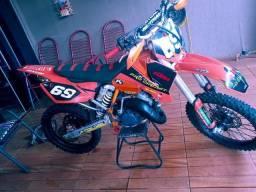 KTM 125sx 2 tempos