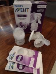 Extrator manual de leite materno Pétala Philips Avent