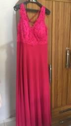 Vestido longo de festa lindo GG 46 usado uma única vez como Madrinha de Casamento