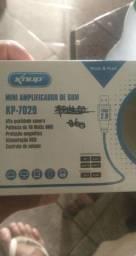 Mini amplificador de som KP-7029 KNUP 10wtts