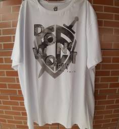 Camiseta masculina tamanho G4