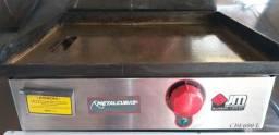 Chapa para Lanches Elétrica Metalcubas 60 Cm 220v Cbe600l