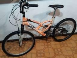 Bike aro 26 dupla suspensão ! 18 marchas ! Wats 99751.4493