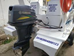 Lancha Catamarã motor 2018 Yamaha