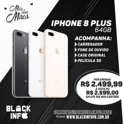 Iphone 8 plus 64gb + BRINDES