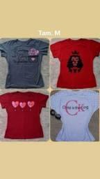 Vendo blusas Novas na etiqueta, PROMOÇÃO $20,00