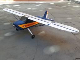 Aeromodelo Cessna 140 Elétrico