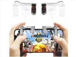 Controle Joystick Gamepad R1 L1 Celular Free Fire Pubg Fo