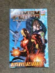 "Revista ""Homem de Ferro Anual 1"""