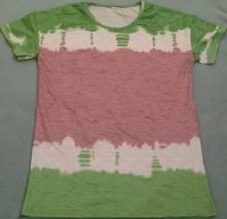 Camisas feminina manga curta tamanho M