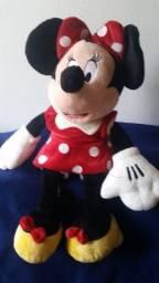Minnie Mouse Vermelho com bolas brancas Dieney