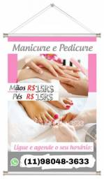 Manicure&Pedicure|Sobrancelha|Barbearia