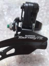 Câmbio Diant. Shimano Tourney Fd-tz500 03 V Por Cima 31.8 mm