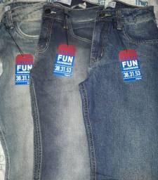 Combo de 3 calças jeans masculinas