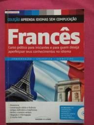 Título do anúncio: Livro Francês  -Coleção Aprenda Idiomas sem Complicação