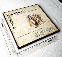 Raridade - Coleção Box Discos - Gioacchino Rossini - Il Barbiere Di Siviglia - Anos 50