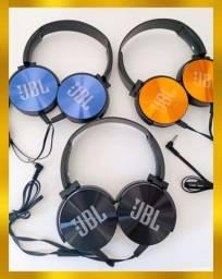 Título do anúncio: Fone jbl com fio com microfone produto novo
