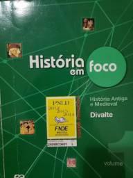 Livro história em foco