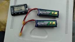 Bateria lipo 3s 1800mah 50c nanotech