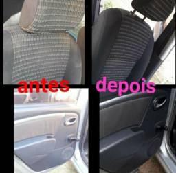 Higienização automotiva completa para seu veículo na promoção apenas 100 reais