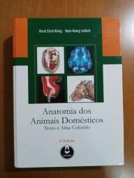 Vendo Livro A anatomia dos animais domésticos 4° edição Novo!