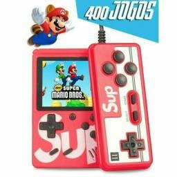 O Mais Barato! Super Game 400 Jogos + Controle Novo Entregamos