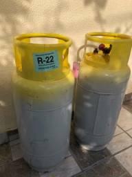 Cilindro gás refrigerante - 23kg