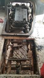 Motor caixa e diferencial do Mercedes 1620 eletrônico