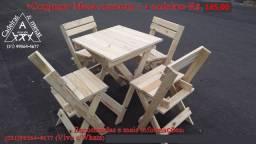 Atacadão conjunto Mesas e Cadeiras Dobráveis, Bar, Restaurante
