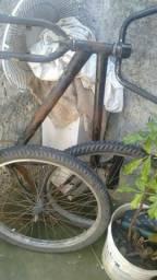 Bicicleta desmontada