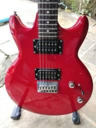 Guitarra Ibanez GAX 30 + Pedaleira + Amplificador + Suporte