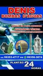 Consertos e manutenção em bombas poços semi artesiano