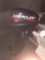 Motor popa mercury 15