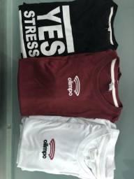 Camisetas uniforme Colégio Olimpo (lote)