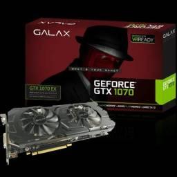 Geforce Galax Gtx Entusiasta Nvidia Gtx 1070 Ex 8gb Ddr